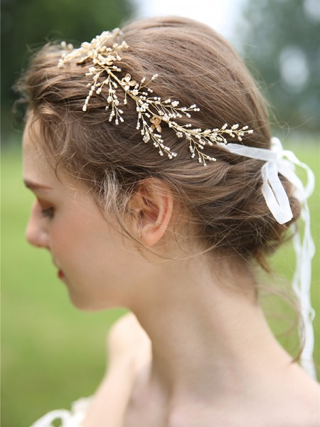 Única Resin Headpieces do casamento