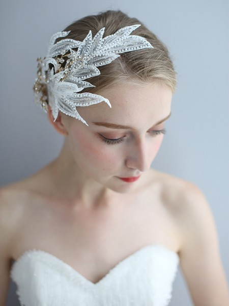 Encantadora Alloy Headpieces do casamento