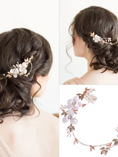 Impressionante Czech Alloy Headpieces do casamento
