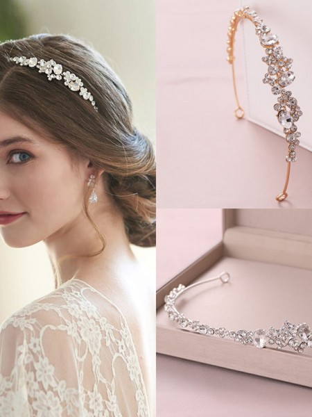 Gorgeous Czech Alloy Headpieces do casamento