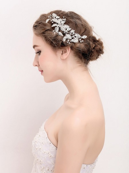 Única Alloy Headpieces do casamento