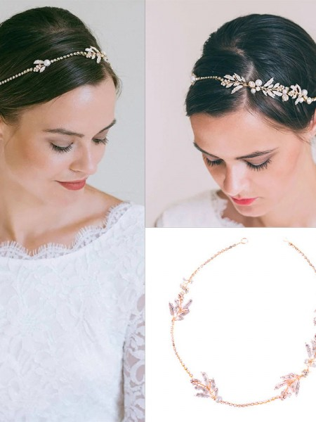 Graciosa Czech Alloy Headpieces do casamento